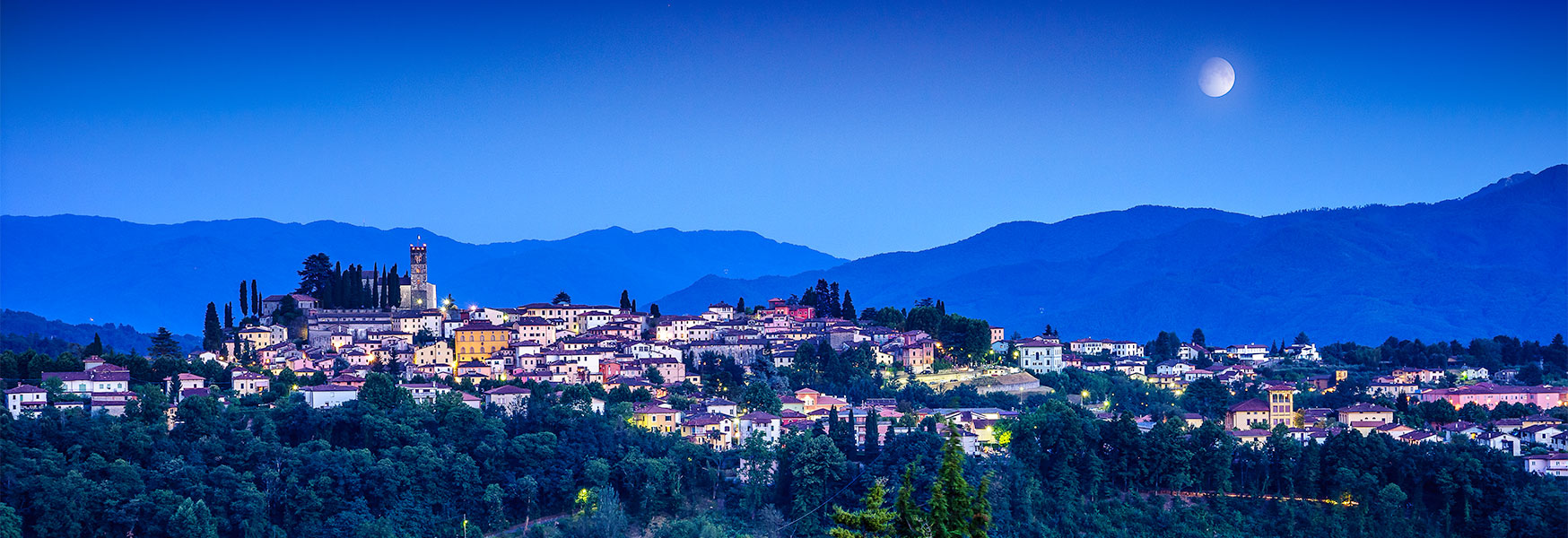 Barga at Blue Hour